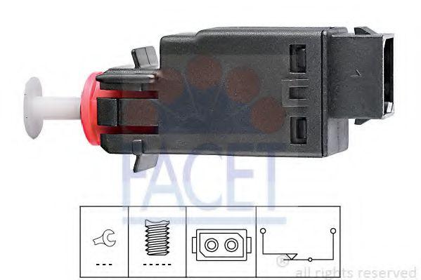 1 810 058 Выключатель стоп-сигнала  арт. 71058