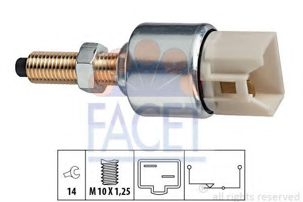 1 810 092 Выключатель стоп-сигнала  арт. 71092