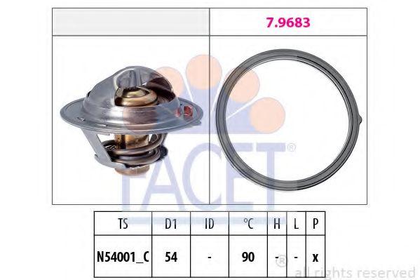 Термостат, охлаждающая жидкость  арт. 78802
