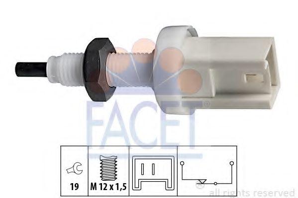 1 810 066 Выключатель стоп-сигнала  арт. 71066