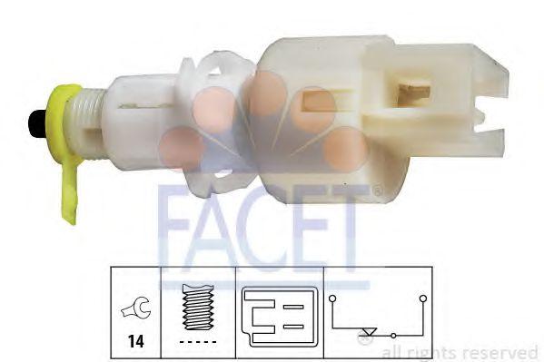 1 810 108 Выключатель стоп-сигнала  арт. 71108