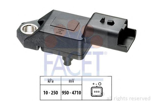 Датчик давления вакуумного усилителя Датчик  вакуума FACET арт. 103034
