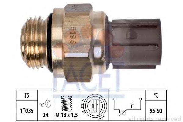 Термодатчик включения ветилятора  арт. 75196
