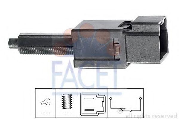 1 810 165 Выключатель стоп-сигнала  арт. 71165