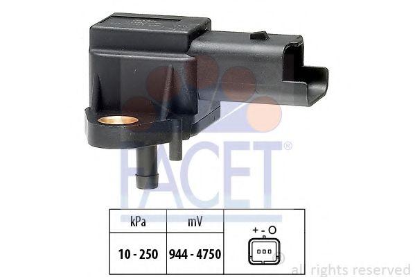 Датчик давления вакуумного усилителя Датчик  вакуума FACET арт. 103030