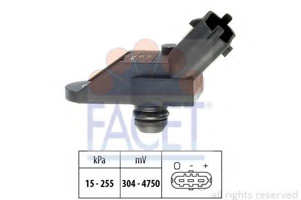 Датчик давления вакуумного усилителя Датчик  вакуума FACET арт. 103013