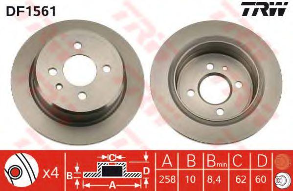 Гальмівний диск REMSA арт. DF1561