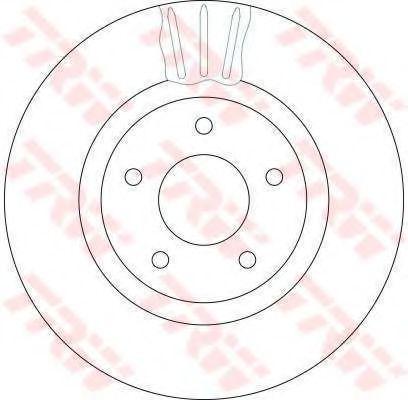 Гальмівний диск  арт. DF4219S