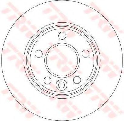 Тормозной диск TRW DF4312