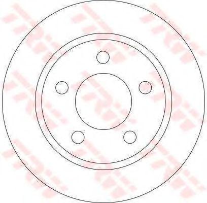 Тормозной диск арт.
