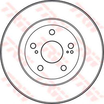 Тормозной диск TRW DF4828S