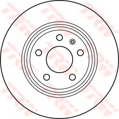 Диск гальмівний (1 шт.) AUDI A4/A5/A7/Q5 R
