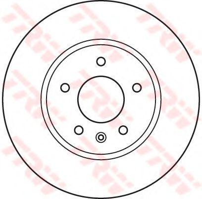 DF4928S  TRW - Гальмівний диск  арт. DF4928S