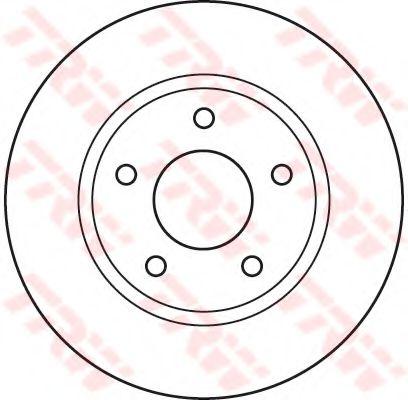 Тормозной диск  арт. DF4933