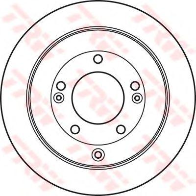 Гальмівний диск  арт. DF4937