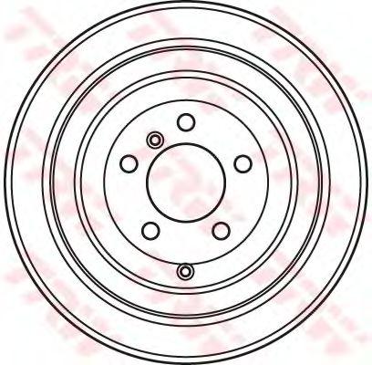 Тормозной диск TRW DF4954S
