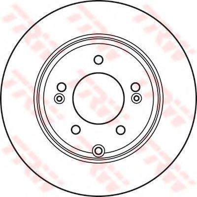 DF4980  TRW - Гальмівний диск  арт. DF4980