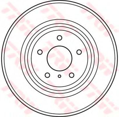 Тормозной диск  арт. DF4983S