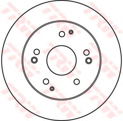 Гальмівний диск  арт. DF6026