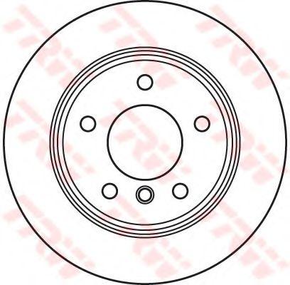 Тормозной диск  арт. DF6106
