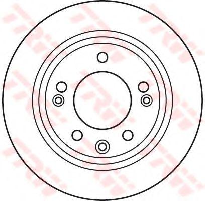 DF6123  TRW - Гальмівний диск  арт. DF6123