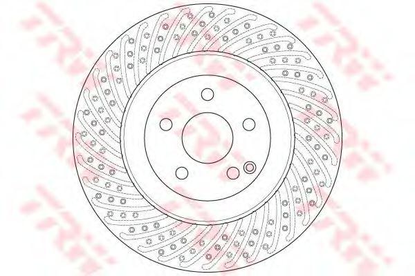 Тормозной диск TRW DF6242S
