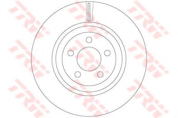 Гальмівний диск  арт. DF6244S