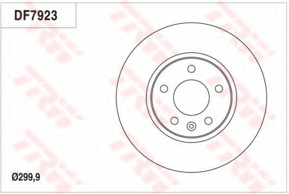 Гальмівний диск  арт. DF7923