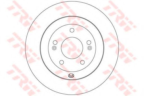 Тормозной диск  арт. DF7996