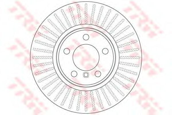 Гальмівний диск  арт. DF8050