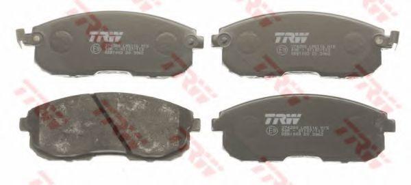 GDB1003  TRW - Гальмівні колодки до дисків TRW GDB1003