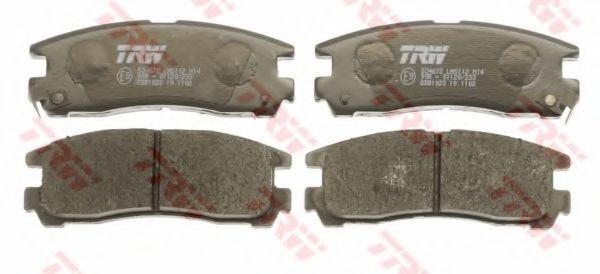 GDB1023  TRW - Гальмівні колодки до дисків TRW GDB1023