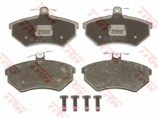 GDB1048  TRW - Гальмівні колодки до дисків TRW GDB1048