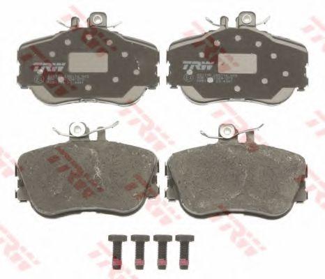GDB1094  TRW - Гальмівні колодки до дисків TRW GDB1094