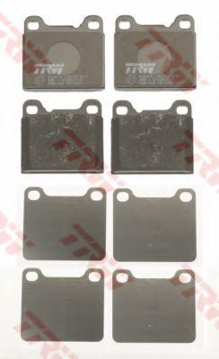 GDB1160  TRW - Гальмівні колодки до дисків TRW GDB1160