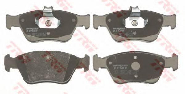 GDB1205  TRW - Гальмівні колодки до дисків TRW GDB1205