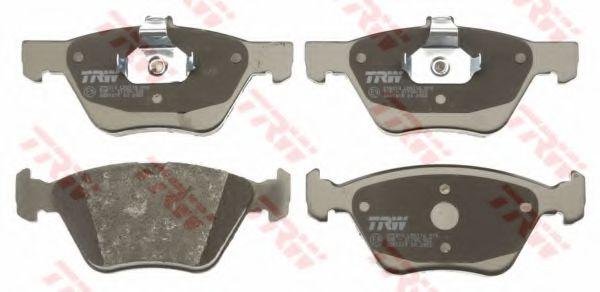 GDB1215  TRW - Гальмівні колодки до дисків TRW GDB1215