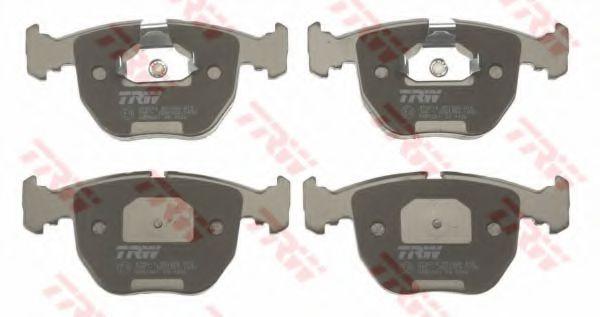 GDB1261  TRW - Гальмівні колодки до дисків TRW GDB1261