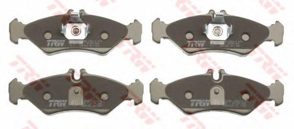 GDB1262  TRW - Гальмівні колодки до дисків TRW GDB1262