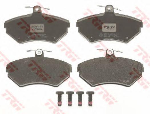 GDB1266  TRW - Гальмівні колодки до дисків TRW GDB1266