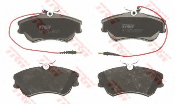 GDB1270  TRW - Гальмівні колодки до дисків TRW GDB1270