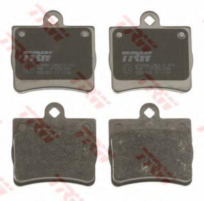 GDB1283  TRW - Гальмівні колодки до дисків TRW арт. GDB1283