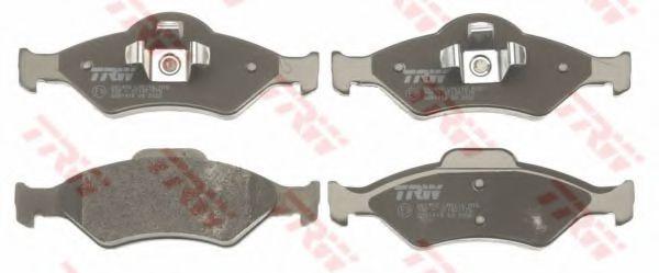 GDB1418  TRW - Гальмівні колодки до дисків  арт. GDB1418