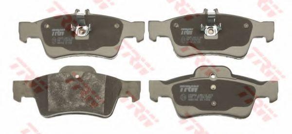 Комплект тормозных колодок, дисковый тормоз TRW GDB1546
