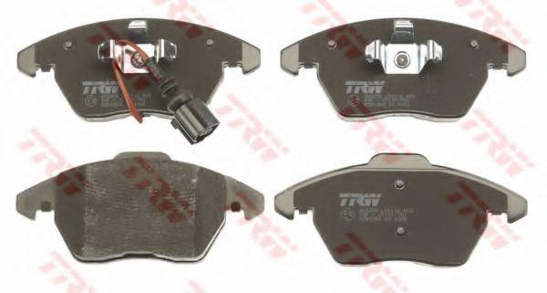 Гальмівні колодки до дисків TRW GDB1550