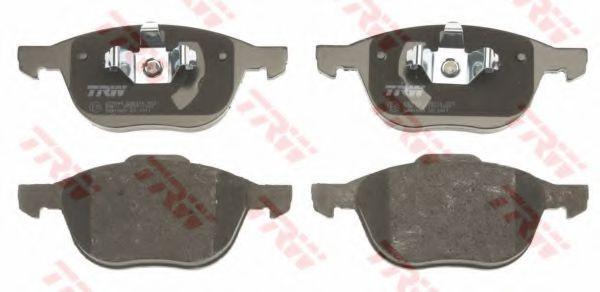 Комплект тормозных колодок, дисковый тормоз TRW GDB1583