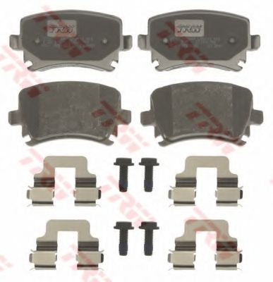 Гальмівні колодки до дисків TRW GDB1622