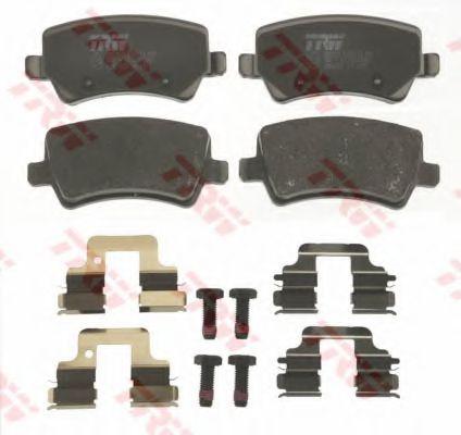 Комплект тормозных колодок, дисковый тормоз TRW GDB1685