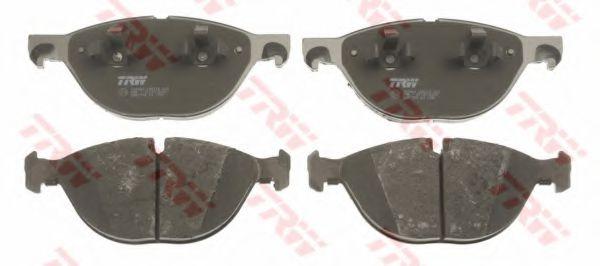 Гальмівні колодки дискові перед. BMW X5 (E70)/ X6 07- TRW GDB1728