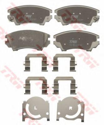 GDB1783  TRW - Гальмівні колодки до дисків  арт. GDB1783